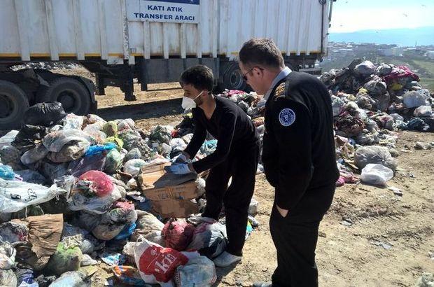 Bursa'da çöpe yanlışlıkla atılan paralar için belediye seferber oldu