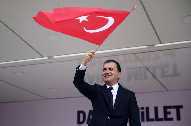 Ömer Çelik: CHP'nin vesayet marketi kapanacak