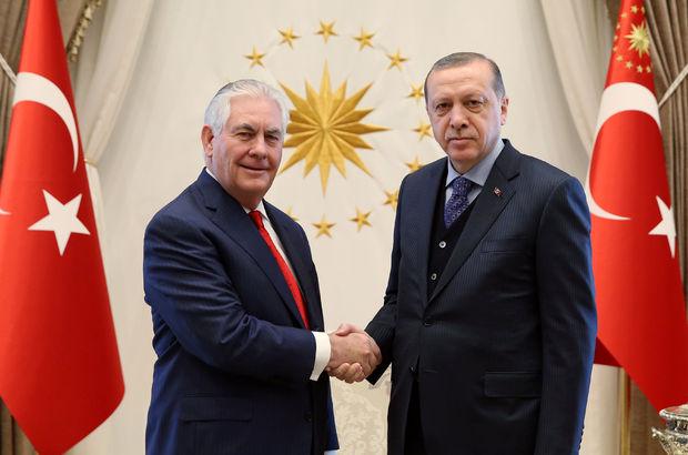 ABD Dışişleri Bakanı Tillerson, Ankara'da