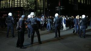 Brüksel'de referandum arbedesi: 4 yaralı