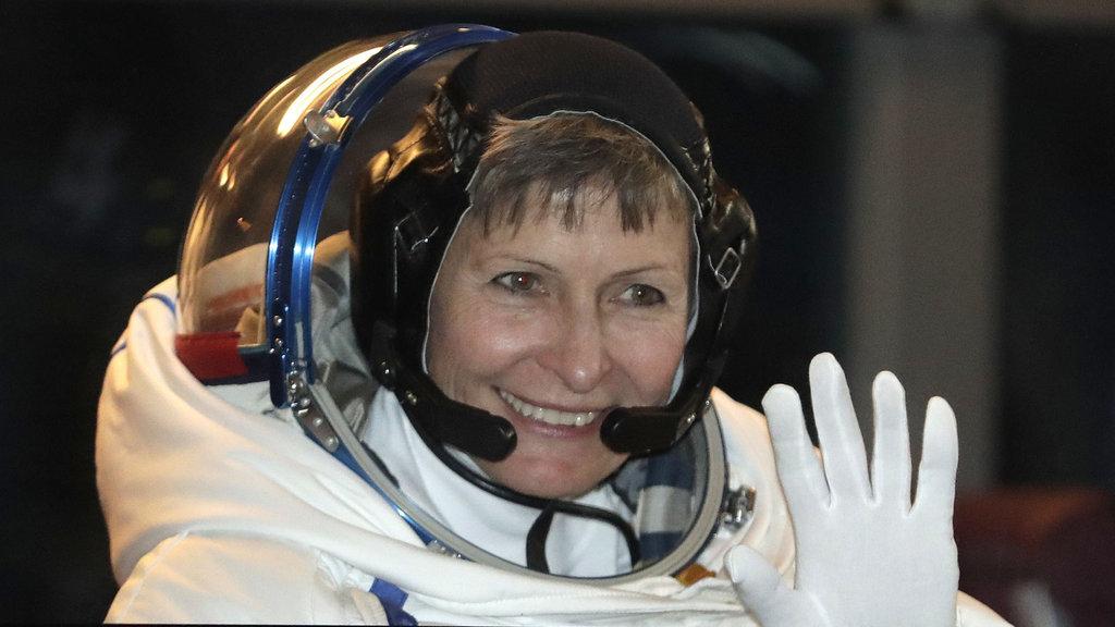 ABD'li kadın astronottan rekor!