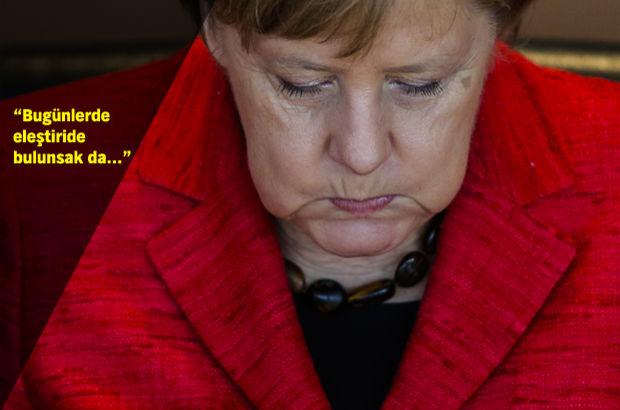 Angela Merkel: Avrupa'nın sığınmacı konusunda Türkiye'yi desteklemesi doğrudur