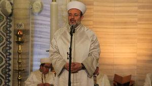 Diyanet İşleri Başkanı Görmez Regaip Kandili'ni Selimiye Camisi'nde kutladı