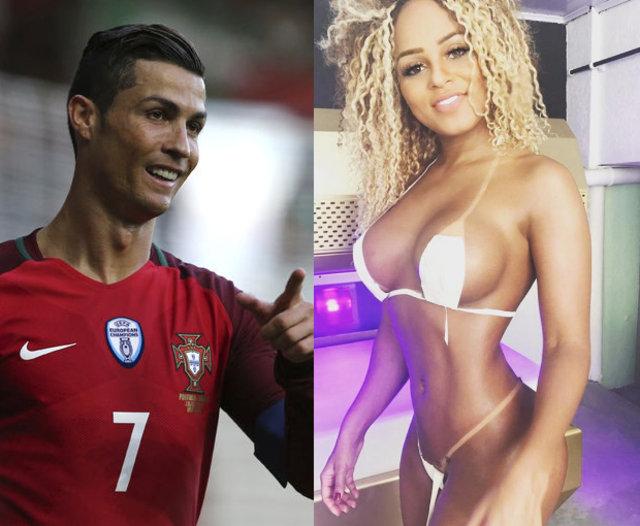 Cristiano Ronaldo'dan popo güzeli Erika Canella'ya mesaj