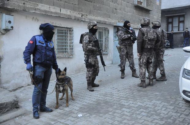 Gaziantep'te uyuşturu operasyonu