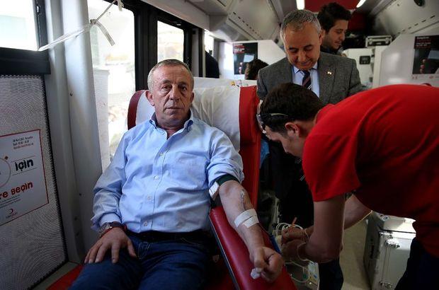 Ali Ağaoğlu kan verdi
