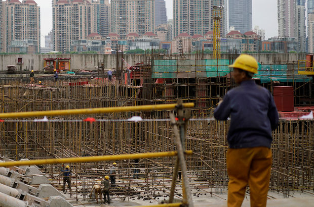 Çin'de inşaat iskelesi çöktü: 9 ölü