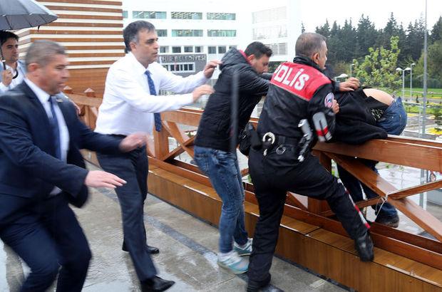 Antalya'da intihar girişiminde bulunan gençten şaşırtan tepki
