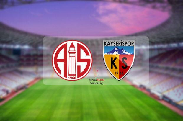 Antalyaspor - Kayserispor maçı ne zaman, saat kaçta, hangi kanalda?