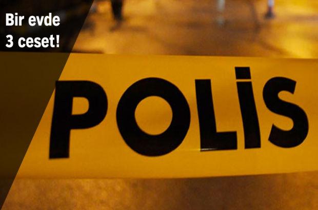 Silah sesleri üzerine eve gelen polisler adeta dondu kaldı!