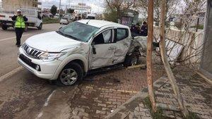 Adıyaman'da Bakan İsmet Yılmaz'ın konvoyunda kaza