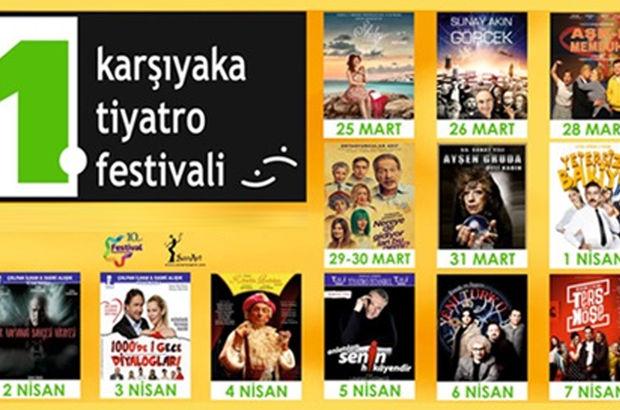 Karşıyaka, Tiyatro Festivali'ne kavuştu