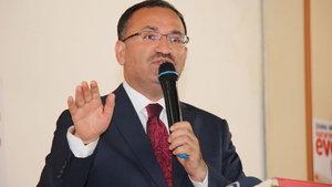 Adalet Bakanı Bozdağ'dan Akıncı Üssü iddianamesine ilişkin açıklama