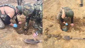 Şemdinli'de tanksavar AT4 silahı ele geçirildi