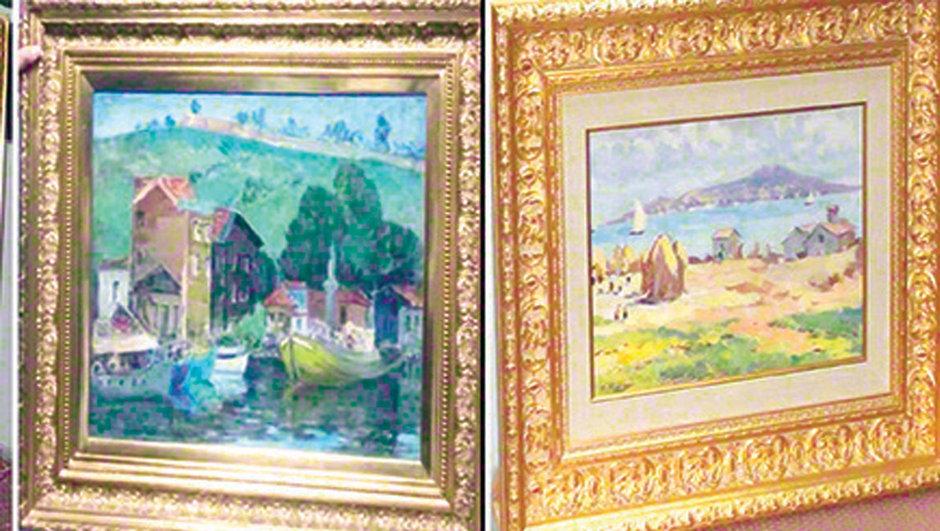 Çalınan tablolar müzede sergilenecek