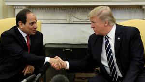 ABD Başkanı Trump ve Mısır Cumhurbaşkanı Sisi görüştü