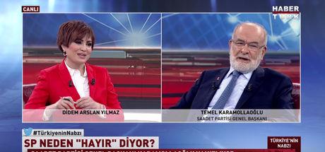 Temel Karamollaoğlu: Cumhurbaşkanının seslenmesinden memnun olduk