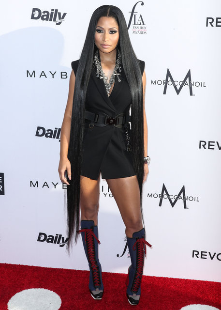 Los Angeles Moda Ödülleri'nde şıklık yarışı