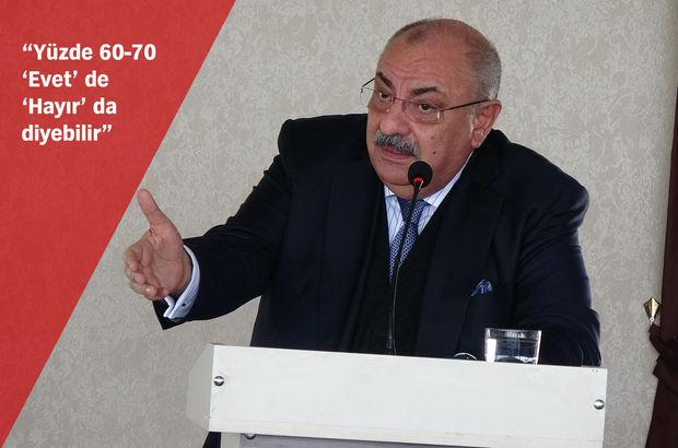 Türkeş'ten referandum yorumu: Bıçak sırtı, kimse bilmiyor