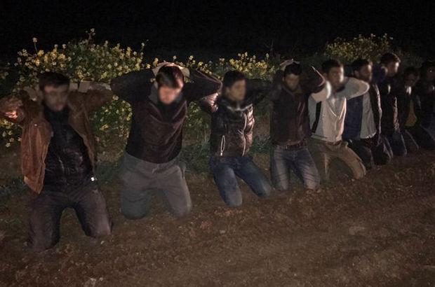Sınırda yakalandılar! Eylem hazırlığındaki Çeçen uyruklu...