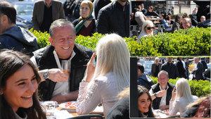 Ali Ağaoğlu ve Duygu Su Gülpınar'ın kahvaltı keyfi