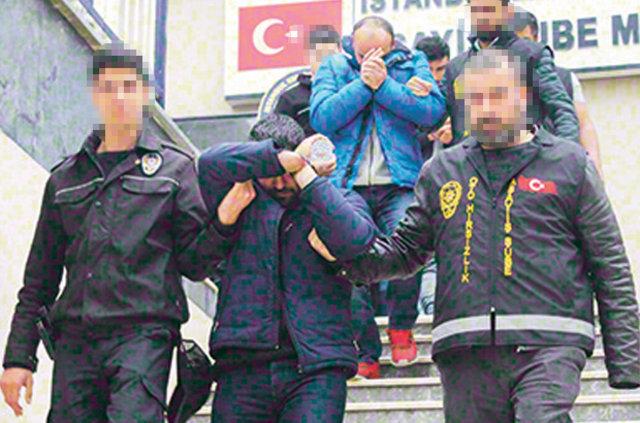 İstanbul'da 'Quaresma' şifresiyle önce çarpıp sonra çalıyorlar