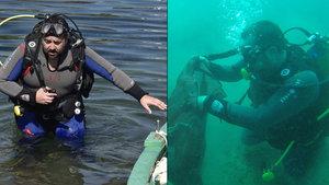 Ata Demirer'in deniz temizliği