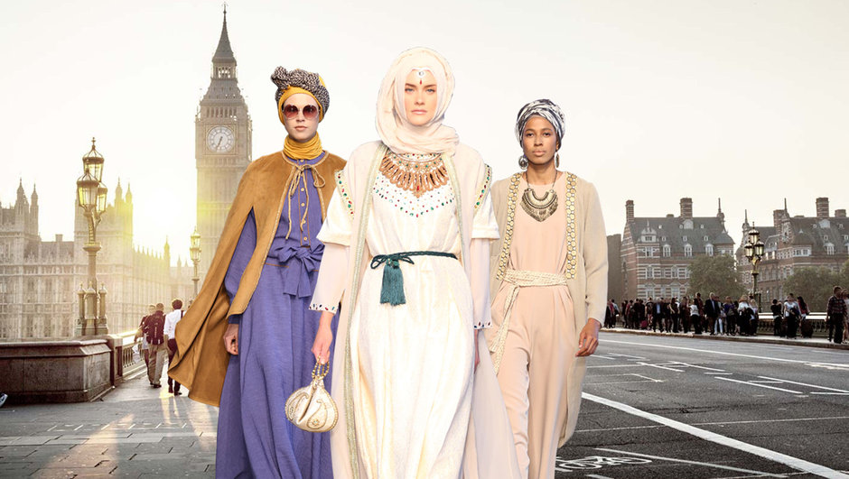 modest fashion week londra