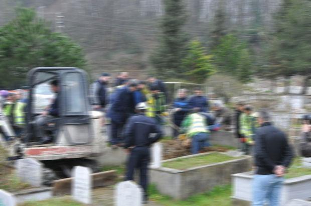 Defin için mezarlığa gitmişlerdi, gördükleri karşısında şoke oldular!