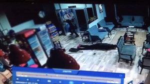 Spor salonundaki saldırı 6 saniye sürmüş