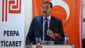 Bakan Tüfenkci, Perpa Ticaret Merkezi'nde esnafla buluştu