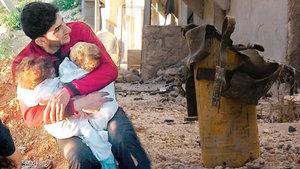 İdlib'deki katliamda tüm ailesini kaybeden baba konuştu
