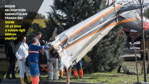 İstanbul'da düşen helikopterin karakutuları Fransa'da açılıyor