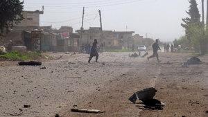 Kimyasal katliamın gerçekleştiği İdlib'de yeni hava saldırısı!