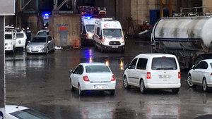 SON DAKİKA! Osmaniye'de fabrikada gaz sızıntısı