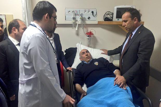 Cumhurbaşkanı Başdanışmanı Topçu'nun konvoyunda kaza