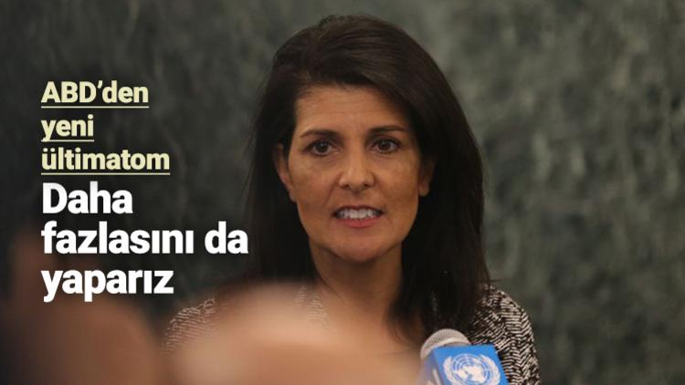 ABD, Suriye saldırısına ilişkin eleştirilere hem 'tehditkâr' hem 'diplomatik' bir dille karşılık verdi.