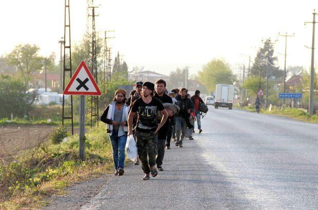 Torbalı'daki kavga sonrası Suriyeliler ayrıldı
