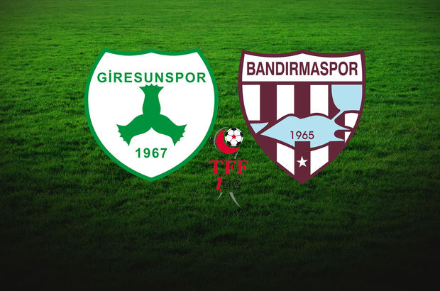 Giresunspor Bandırmaspor