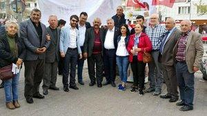 Kayseri'deki CHP standında gerginlik!