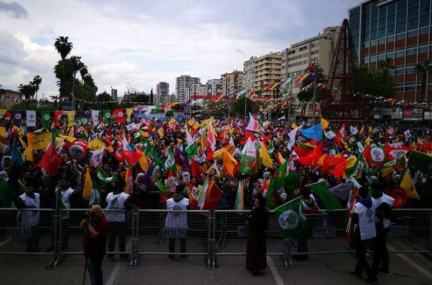 HDP'den İstanbul'da miting