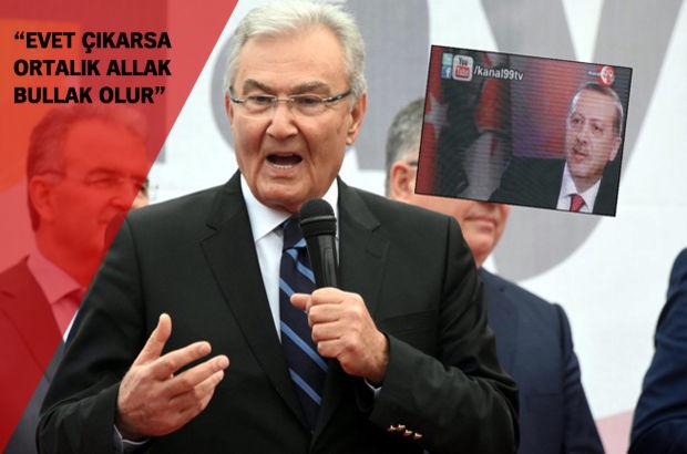 Baykal, Erdoğan'ın o konuşmasını meydandakilere izletti