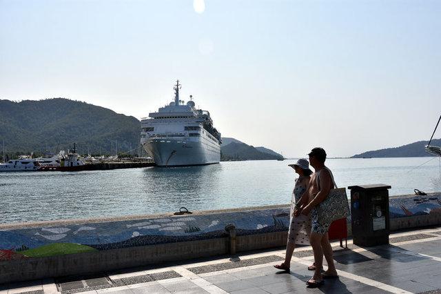 Thomson Dream son kez bugün Marmaris'e 1.500 yolcuyla geldi