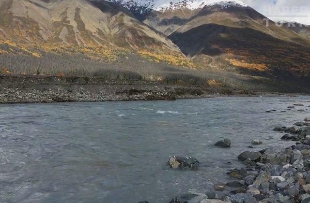 16 kilometrelik nehirden geriye toprak kaldı