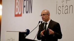 Mehmet Şimşek, Halkbank'ın arkasında olduğunu söyledi