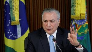 Brezilya'da bakanlar, senatörler ve milletvekillerine soruşturma