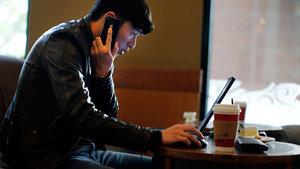 Kafede, otelde internete SMS takibi