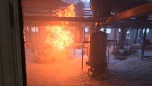 SON DAKİKA! Tekirdağ'da tekstil fabrikasında yangın