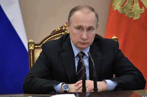 Putin, Rex Tillerson ile görüştü