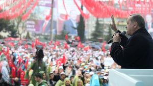 Cumhurbaşkanı Erdoğan: Sınırlarımızda PYD'yi, YPG'yi barındırmayız